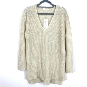 NEW Vince Camuto pullover tunic v-neck sweater